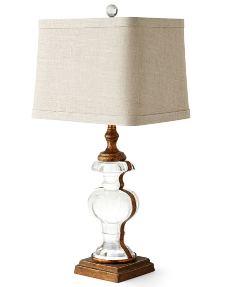 Andrea Glass Table Lamp