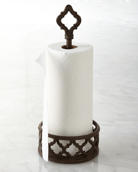 G G Collection Ogee-G Paper Towel Holder