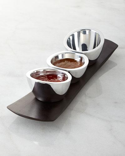 Espresso Trio Condiment Set