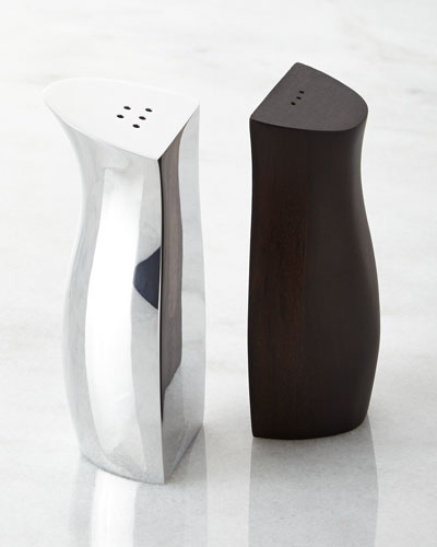Espresso Cradle Salt & Pepper Shakers