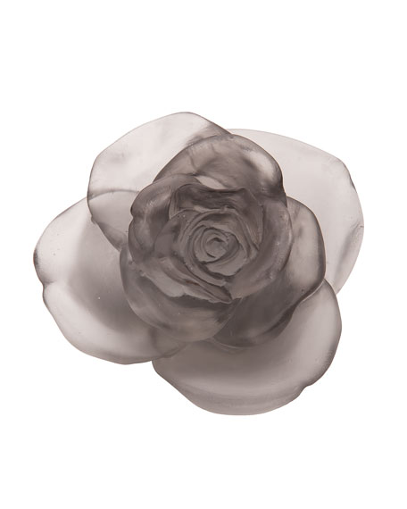Gray Rose Passion Flower Sculpture