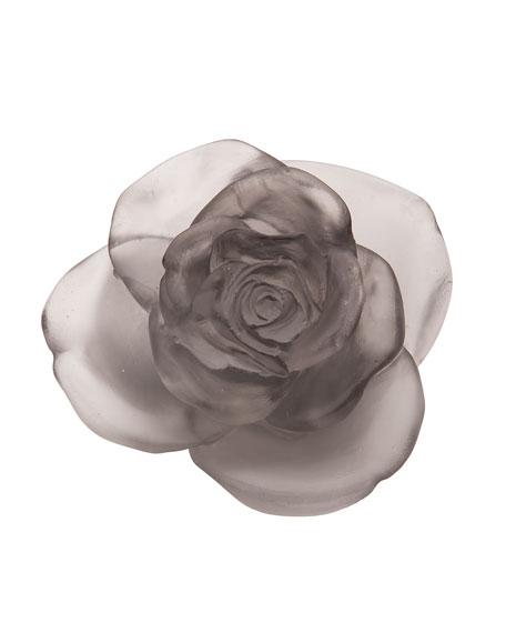 Gray Rose Passion Flower Sculpture