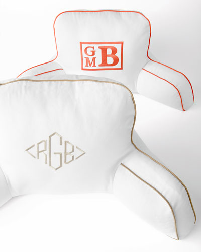 "Personalized ""Boyfriend"" Backrest"