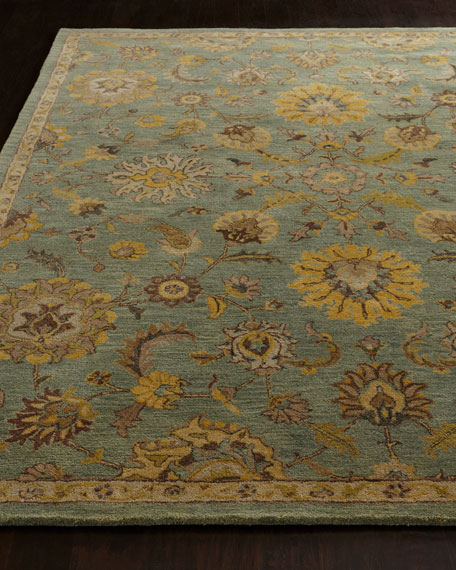 """Astral Blossom Rug, 3'9"""" x 5'9"""""""