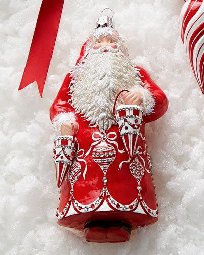 Patricia Breen Design Group Anniversary Claus Ornament