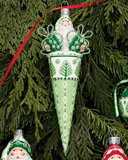 Patricia Breen Design Group Davis Claus Ornament