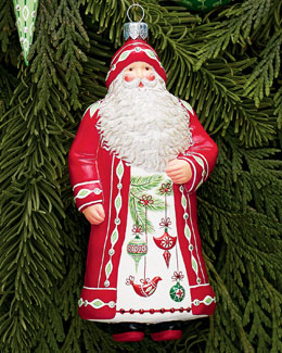 Patricia Breen Design Group Aberdeen Claus Ornament