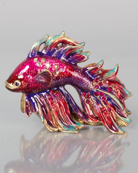 Jay Strongwater Jeremiah Mini Japanese Fighting Fish