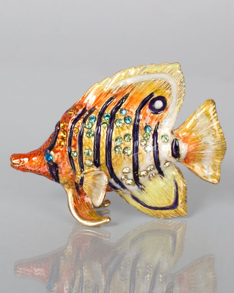 Melvin Butterfly Fish Mini Figurine