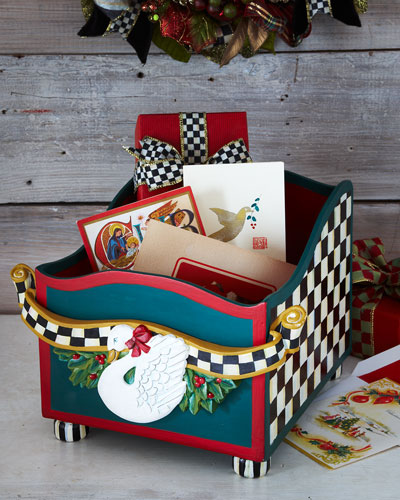 MacKenzie-Childs Holiday Card Box