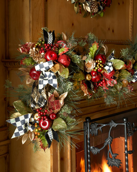 Mackenzie Childs Gala Christmas Garland