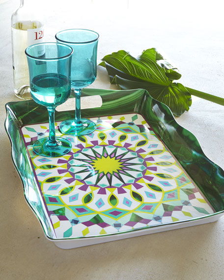 Moroccan Melamine Tray