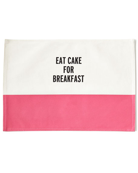 Kate Spade Food for Thought Placemat