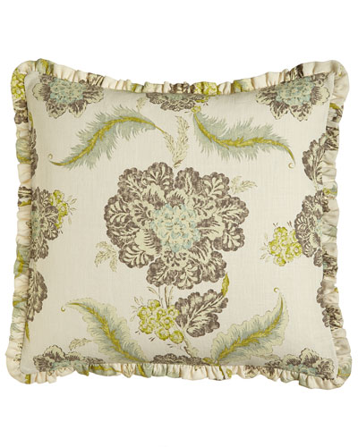Traditions Linens Floral European Sham