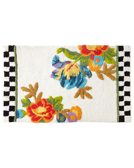 MacKenzie-Childs Flower Market Bath Rug