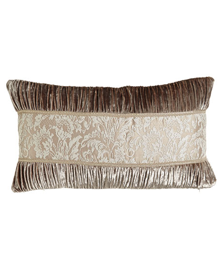 Dian Austin Couture Home French Chantilly Ruched Velvet