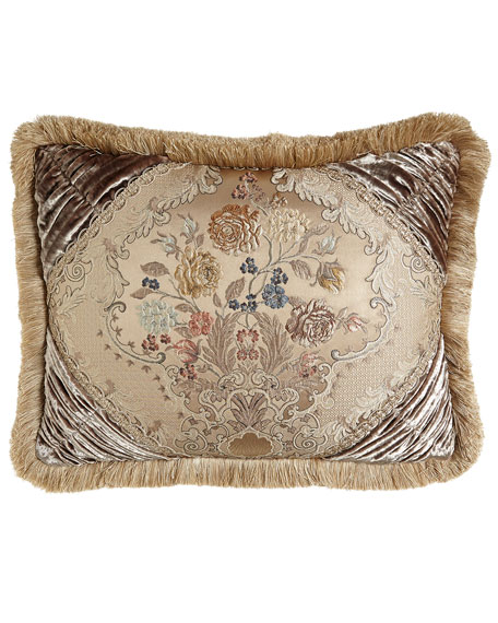 Dian Austin Couture Home French Chantilly Fringed King