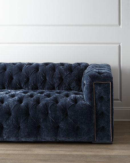 Beverly Tufted Sofa 101""