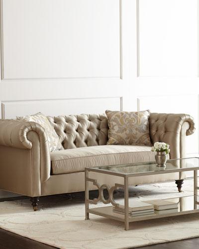 Pepper Tufted Sofa