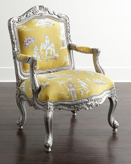Massoud Danbury Bergere Chair Neiman Marcus