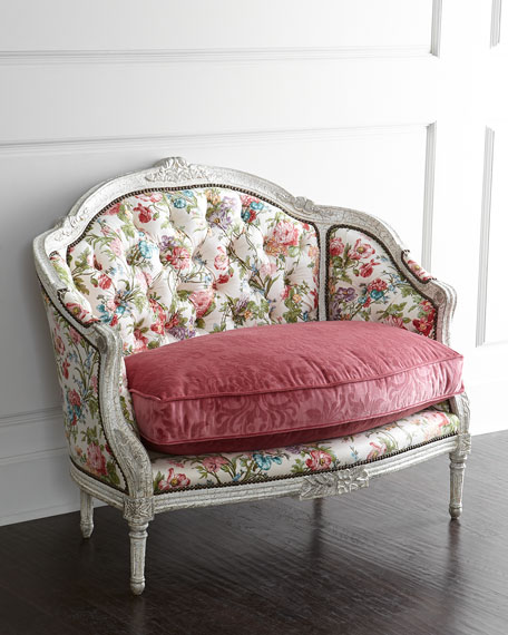 Old Hickory Tannery Belclaire Settee