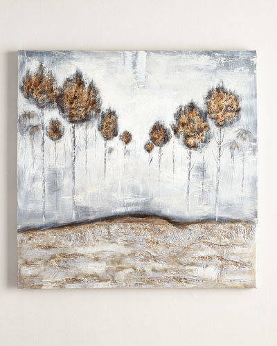 """Iced Trees"" Original Painting"