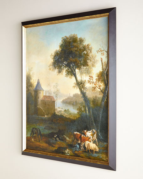 """The Castle's Pasture"" Giclee on Canvas Wall Art"
