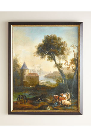 "John-Richard Collection ""The Castle's Pasture"" Giclee on Canvas Wall Art"