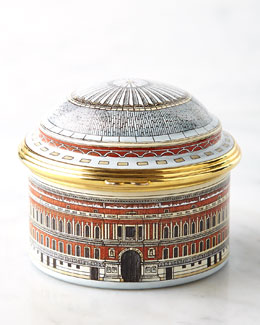 Halcyon Days Enamels Royal Albert Hall Music Box