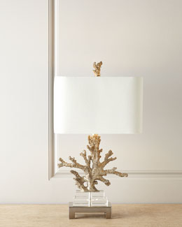 Poseidon Coral Table Lamp