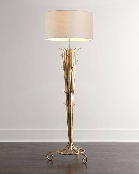 Sedgwick Golden Reed Floor Lamp