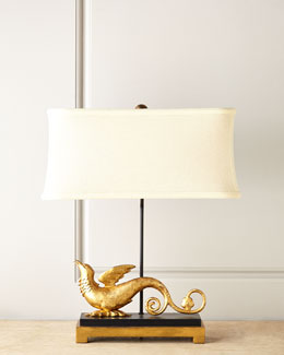 John-Richard Collection Mythical Griffin Lamp