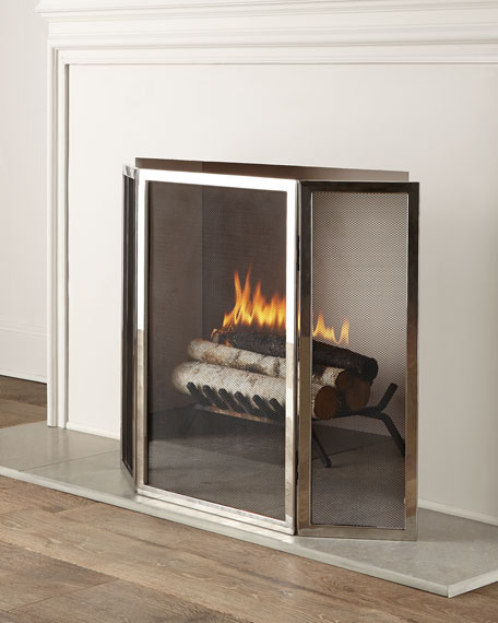 INTERLUDE Tulun Fireplace Screen