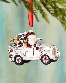 Mattarusky Ornaments Winter Wheels Christmas Ornament
