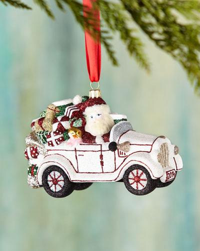 Mattarusky Ornaments Winter Wheels Christmas Ornament
