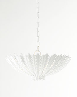 AERIN Hampton White Pendant Light