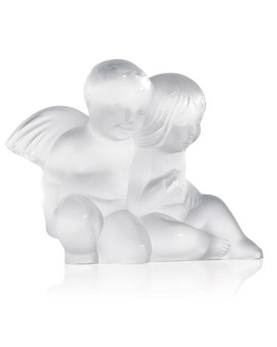 Twin Angels Figurine