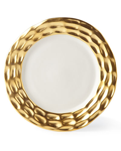 Truro Gold Salad Plate