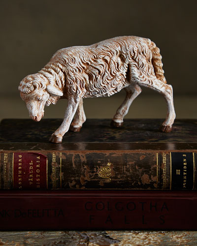 Sheep With Lowered Head Figure