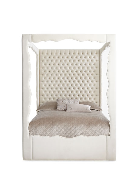 Empress California King Canopy Bed