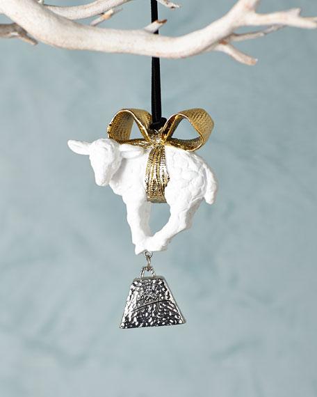 Michael aram little lamb christmas ornament for Michaels christmas tree ornaments