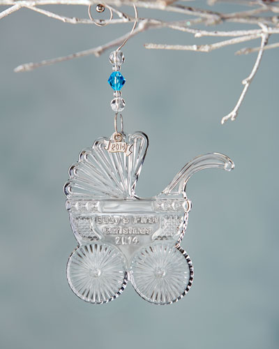 Waterford Crystal 2014 Baby's First Christmas Ornament