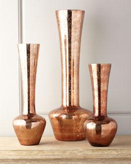 Three Autumn Harvest Vases