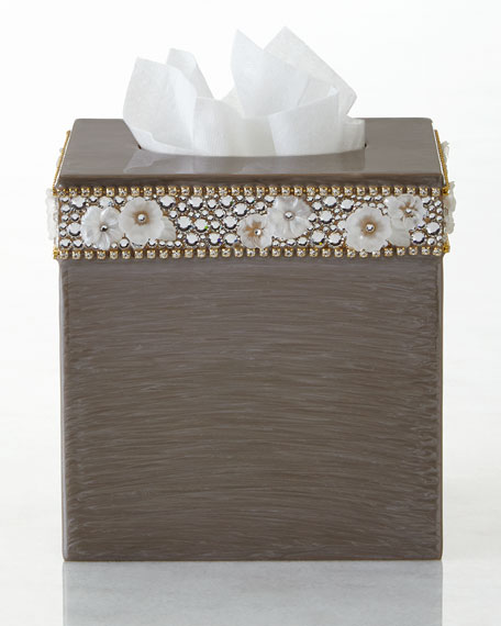 Mike & Ally Chantilly Tissue Box Cover