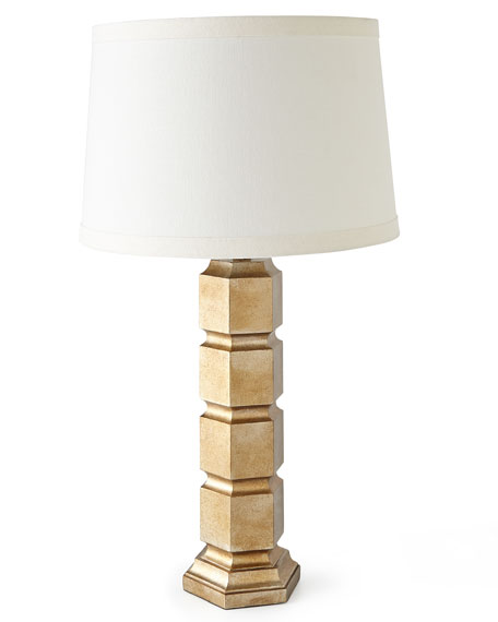Thea Gold-Leaf Lamp