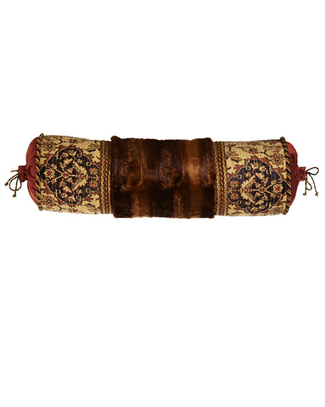 Sweet Dreams Grand Bazaar Pieced Bolster Pillow with