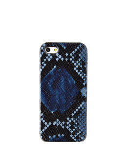 Python Blue iPhone 5 Case