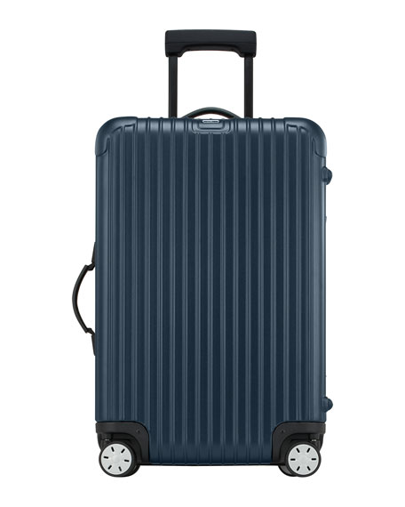 rimowa north america salsa matte blue luggage matching items neiman marcus. Black Bedroom Furniture Sets. Home Design Ideas