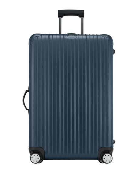 "Salsa Matte Blue 32"" Multiwheel Luggage"