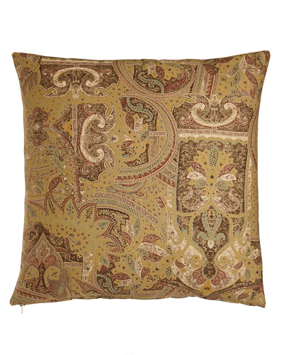 "Ralph Lauren Home Bellosguardo Paisley Pillow, 18""Sq."